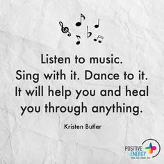 Positive Energy+ added a new photo. The Power Of Music, Music Is My Escape, Music Love, Listening To Music, Music Is Life, My Music, Singing, Song Quotes, Music Quotes