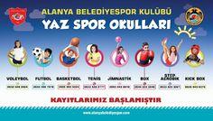 Летний клуб Alanya Belediye Spor объявляет набор!