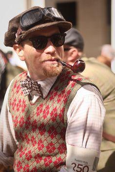 London Tweed Run. Ewan McGregor