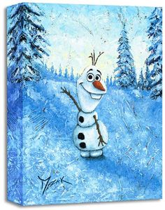 """Hello I'm Olaf"" Size: 16 x 12 