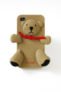 Moschino-iphone-cover-Gennarino, l'orsetto di Moschino