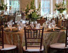 Table Setup for Wedding Reception | #catering #weddings #weddingdecor #weddingfood | CraveNC.com