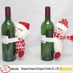 2015 Merry Christmas Sitting Santa Claus Wine Bottle Covers For Promotion , Find Complete Details about 2015 Merry Christmas Sitting…