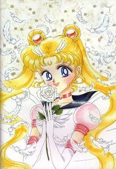 Eternal Sailor Moon - Original art. By: Naoko Takeuchi