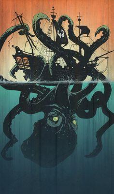 sea monster | Tumblr