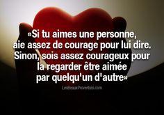 Les Beaux Proverbes – Proverbes, citations et pensées positives » » Aie assez de courage