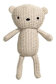 Soft toy in cotton: BABY EXCLUSIVE/CONSCIOUS. Soft toy knitted in organic cotton…