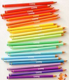Pencils multicolors