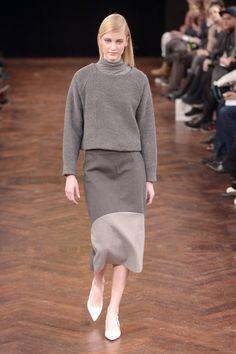 Veronica B. Vallenes A/W '14 Copenhagen Style, Copenhagen Fashion Week, Veronica, Runway, Normcore, Grey, House, Ideas, Cat Walk