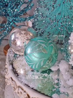 turquoise, white & silver - magical