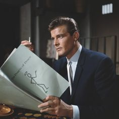 Bond actor Roger Moore: a life in pictures Roger Moore, Spy Shows, Old Tv Shows, The Saint Tv Series, Eric Rogers, Tv Vintage, Vintage Vibes, A Love Supreme, History Of Television
