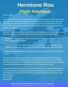 Want to create or improve your Flight Attendant Cover Letter Example? ⚡ ATS-friendly Bot helps You ⏩ Use free Flight Attendant Cover Letter Examples ✅ PDF ✅ MS Word ✅ Text Format Letter Of Interest Sample, Personal Reference Letter, Professional Reference Letter, Reference Letter Template, Letter Sample, Letter Templates, Cover Letter Layout, Writing A Cover Letter, Cover Letter Example