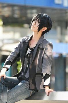 *^* Sebastian Michaelis Black Butler cosplay