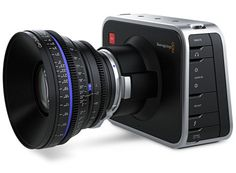 Blackmagic Cinema Camera. A huge 2.5K sensor with 13 stops of dynamic range, capable of shooting feature film quality moving images in RAW format. Accepts EF and ZE mount lenses.