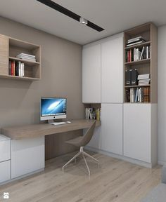 Cool And Cozy Home Office Design Ideas That Can Boost Your Productivity | Home Office Ideas | Small Home Office Decor And Organization Ideas #homeoffice #formen #organization #DIY #desk #Homeofficeideas