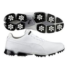 e6e37a84f4c5b6 Puma TitanTour Ignite Golf Shoes White SS16 Golf Shoes