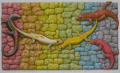 The Rainbow Mosaic All Races, Stencils, Oriental, Mosaic, Religion, Rainbow, Peace, Artwork, Artist