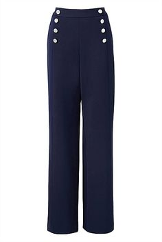 Sailor Pants #witcherystyle More wide cut pants! Love the sailor theme too, I've always wanted a pair of sailor trousers like these.
