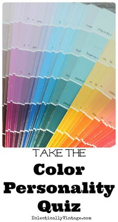 Take the Color Personality Quiz! eclecticallyvintage.com