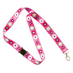 B2s Lanyard from Smiggle - flower