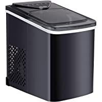 WATOOR Portable Ice Maker Machine for Countertop 26 lbs Bullet Ice Cube in 24H 9 Ice Cubes Ready in 6-9 Minutes2.2L Ice Maker Machine with Ice Scoop and Basket Black #9 WATOOR Portable Ice Maker Machine for Countertop 26 lbs Bullet Ice Cube in 24H 9 Ice Cubes Ready in 6-9 Minutes2.2L Ice Maker Machine with Ice Scoop and Basket Black 5.0 out of 5 stars 2 1 offer from $99.99 Office Bar, Kitchen Office, Stainless Steel Countertops, Best Appliances, Making Machine, Ice Cubes, Black 13, Matte Black, Basket