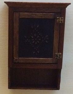 Joanna Scarboro, IGMA artisan - pieced wall cabinet