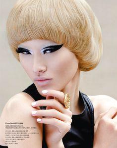Tuyết Lan by Jason Setiawan for Rouge Magazine