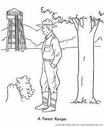 Park Ranger Coloring Pages Google Search Forest Ranger Park Ranger Ranger