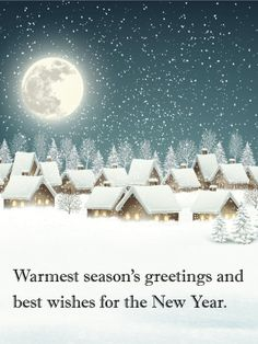61 best seasons greetings cards images on pinterest card birthday quiet winter night seasons greetings card silent night holy night all is m4hsunfo