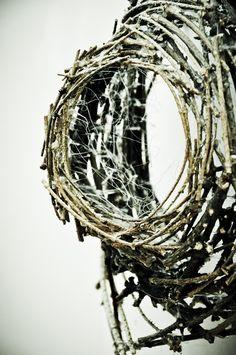 www.daniellecarignan.ca #Art #wood #branches #photos #sculpture