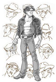 X-Men Evolution's Logan by Steven E Gordon