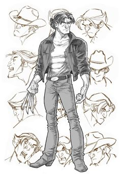 X-Men Evolution's Logan by Steven E Gordon