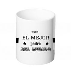 Taza - EL MEJOR PADRE DEL MUNDO Shot Glass, Tableware, World, Personalized Gifts, Original Gifts, Get Well Soon, Dinnerware, Tablewares, Dishes