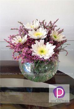 Arreglo floral: margaritas blancas