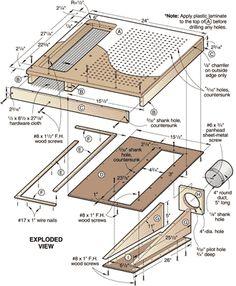 Table Saw sanding Table