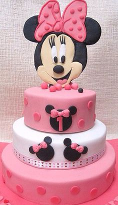 Torta mickey y minnie