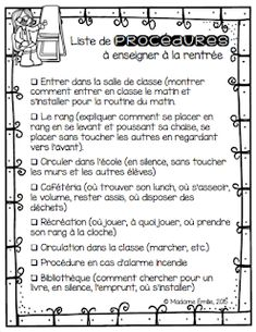 Back To School Organization Elementary 36 Ideas Teacher Organisation, Back To School Organization, Teacher Binder, French Teaching Resources, Teaching French, Teacher Resources, Nail Art Videos, Make Up Designs, French Education