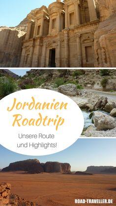 Jordanien auf eigene Faust entdecken? Geht perfekt! Wir haben dir alle Infos, die detaillierte Route und die Highlights unseres Jordanien Roadtrip zusammengefasst!