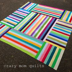 crazy mom quilts: the parachute quilt