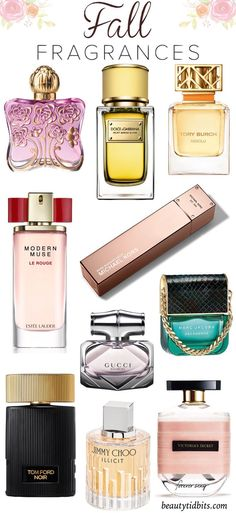 Need a new fall fragrance? Here are some of the best picks from warm florals to deliciously spicy or woodsy! #fallfragrances #perfume #fallbeautytrends #michaelkors #watchmichaelkors #watches