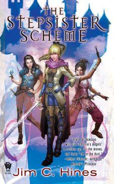 The Stepsister Scheme (PRINCESS Book 1) by Jim C. Hines http://www.amazon.com/dp/B001O222DG/ref=cm_sw_r_pi_dp_RjZ6vb097K15J