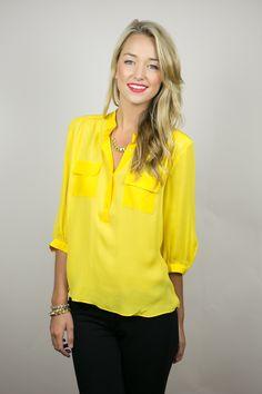 #blouse #lemon
