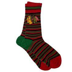 Chicago Blackhawks NHL Stylish Socks (1 Pair) (M-L)