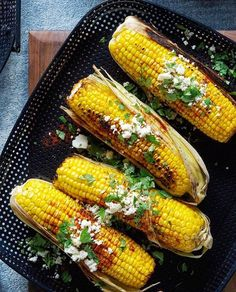 We're all about burgers, ribs and steak but don't forget about veggies Try our Mexican Grilled Corn, prepared on the High Heat Nonstick Griddle. Recipe link in bio. Vegetarian Recipes Easy, Vegetarian Cooking, Mexican Food Recipes, Low Carb Recipes, Great Recipes, Dessert Recipes, Healthy Recipes, Recipe Ideas, Fast Recipes