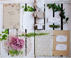 pastel botanical wedding stationery suite. By @caratterino for @trendinozze. Photo by @infraordinario