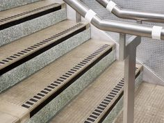 Cast Metal Stair Treads Nosings Pedestrian Surfaces Iron Stair Railing,  Metal Stairs, Stair Treads