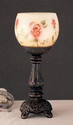 missingsisterstill:   Roses Tealight Lamp