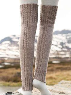 52404a499 Knit Fashion, Crochet Leg Warmers, Crochet Socks, Knitting Socks, Free  Knitting,