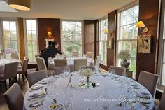 The Dining Room at Yorebridge House.