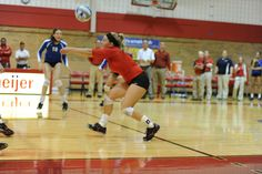 Cardinal Volleyball vs. Lake Erie - 2012